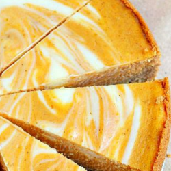 1-Carb Pumpkin Cheesecake