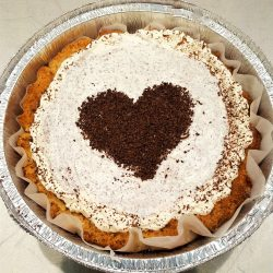 Chocolate Cream Pie (1-carb slices)