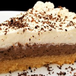 1-Carb Chocolate Cream Pie