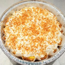 Coconut Cream Pie (1-carb slices)
