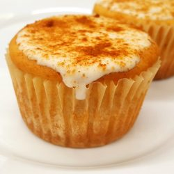 Clean Cupcake with cinnamon-sugar(not)