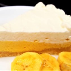 1-Carb Banana Cream Pie