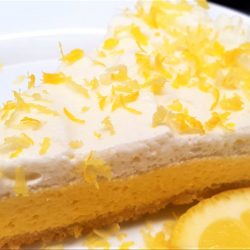 1-Carb Lemon Cream Pie